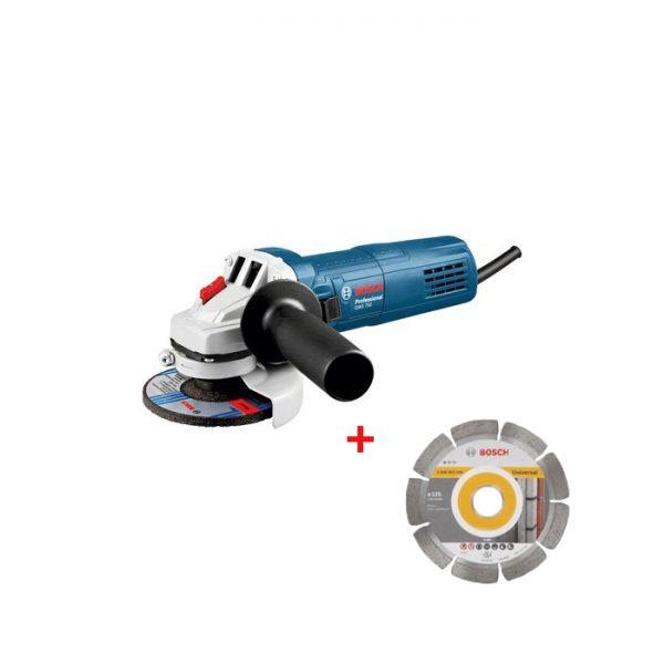 Bosch Brusilica GWS 750-125 + Dijamantska Ploca 0.601.394.00D