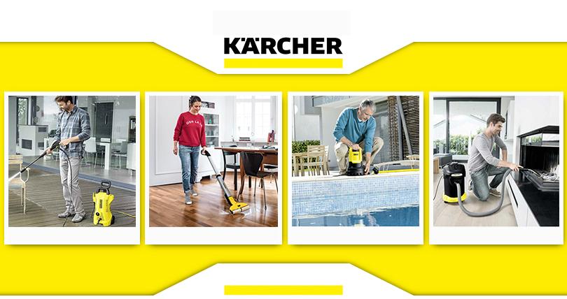 Karcher usisvači, perači pod pritiskom, oprema