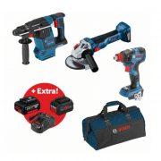 Bosch Set GBH18V-26+GDX18V-200C+GWS18V-10 0.615.990.L95