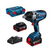 Bosch GDS18V-1050H+2xGBA18V/5Ah+GAL18V-40 0.601.9j8.522