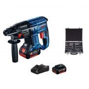 Bosch aku hamer GBH 180-Li + 11 delni Set 0.615.990.M33